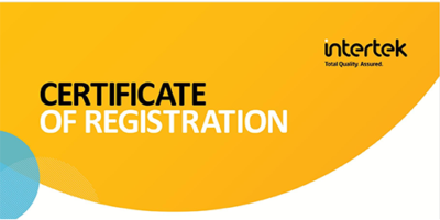 certificate of registrationVW